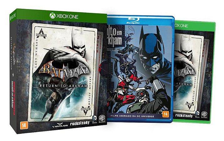 Jogo Batman Return to Arkham Edição Limitada - Xbox ONe