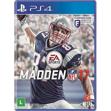 Jogo Madden NFL 17 - PS4 - PlayStation 4