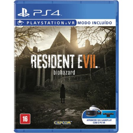 Jogo Resident Evil 7 - PS4 - Playstation 4