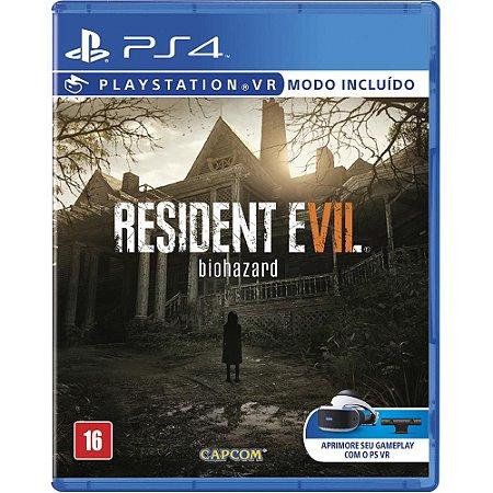 Jogo Resident Evil 7 - PS4 - Playstation 4