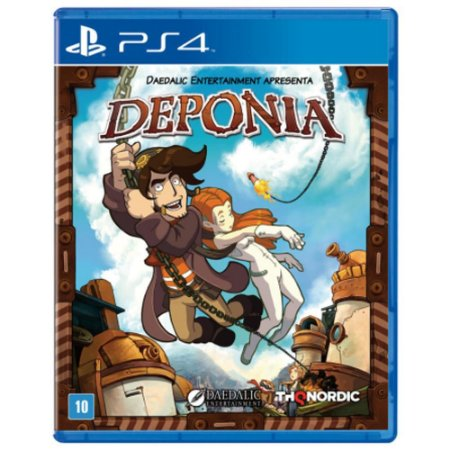 Jogo Deponia - PlayStation 4 - PS4
