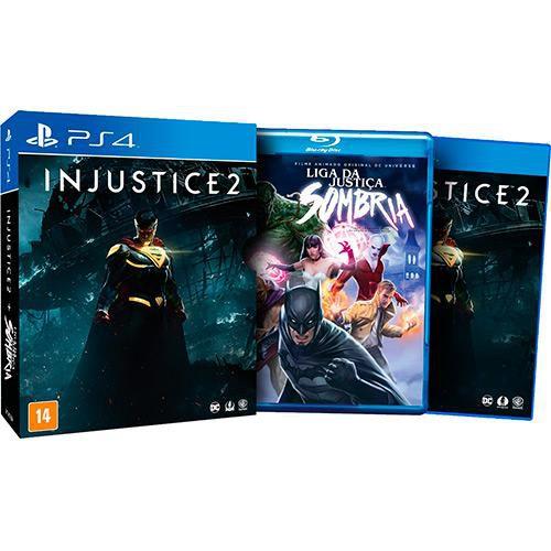 Jogo Injustice 2 PS4 - Playstation 4 - Ed. Limitada