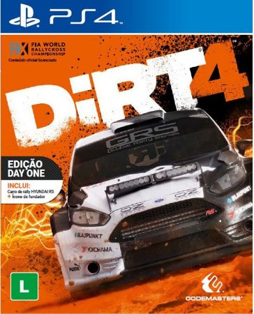 Jogo Dirt 4 - PS4 - Playstation 4