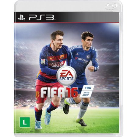 Jogo Fifa 16 -PS3 - Playstation 3