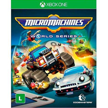 Jogo MicroMachines Xbox One