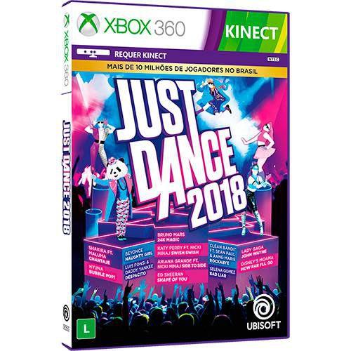 Jogo Just Dance 2018 Xbox 360