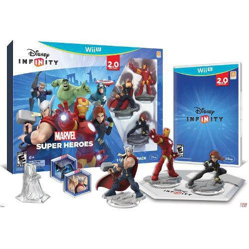 Disney Infinity 2.0 - Kit Inicial Marvel - Wii u