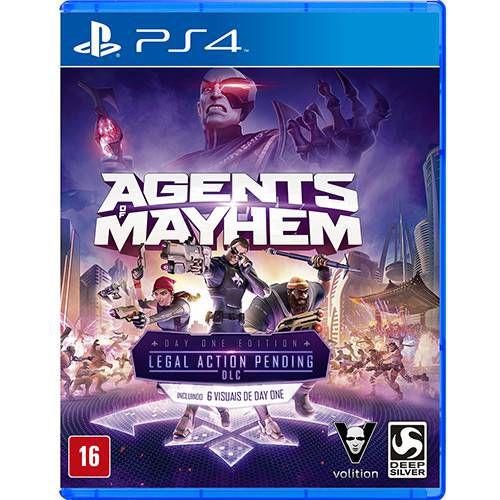 Jogo Agents Of Mayhem- Ps4