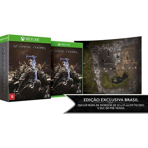 Jogo Sombras Da Guerra - Xbox One