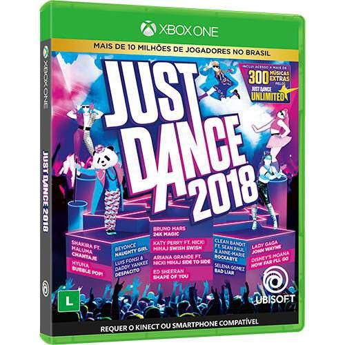 Jogo Just Dance 2018- Xbox One