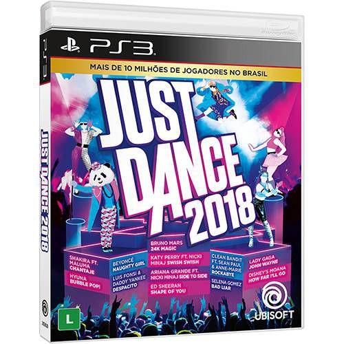 Jogo Just Dance 2018- PS3