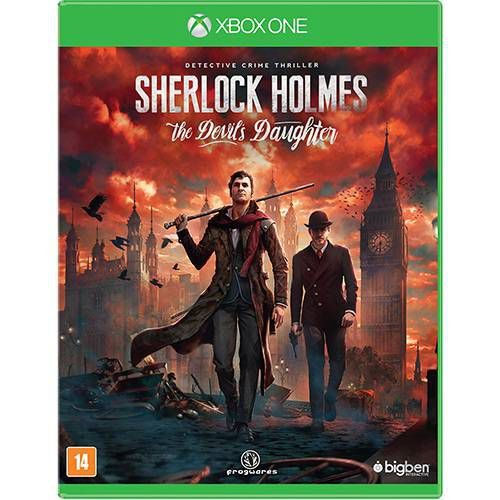 Jogo Sherlock Holmes The Devil's Daughter  - Xbox One