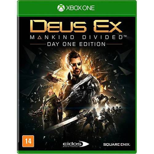 Jogo Deus Ex - Mankind Divided - Xbox One
