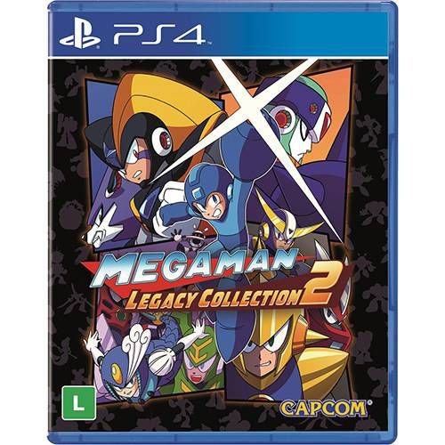 Jogo Megaman Legacy Collection 2 - Ps4