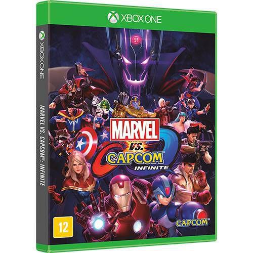 Jogo Marvel Vs Capcom Infinite - Edição Limitada - Xbox One