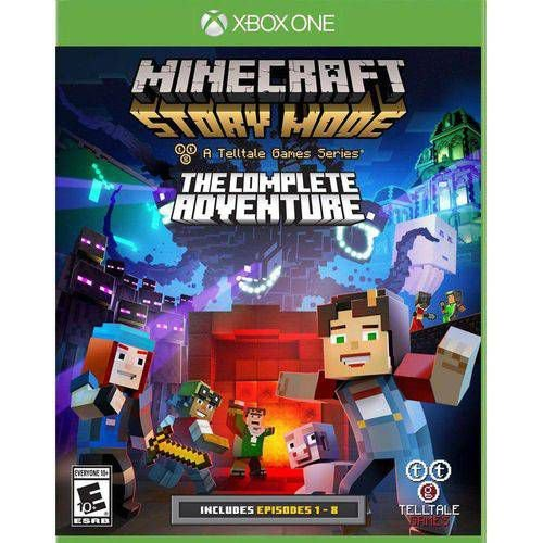 Jogo Minecraft - Story Mode - The Complete Adventure - Xbox One
