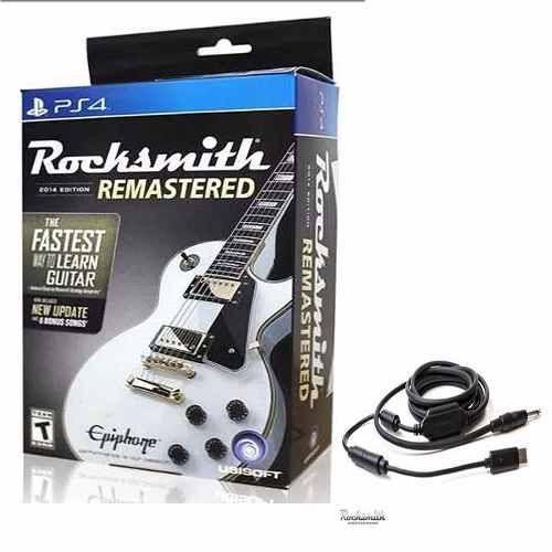Jogo Rocksmith Remasterizado com Cabo - PS4 - PlayStation 4