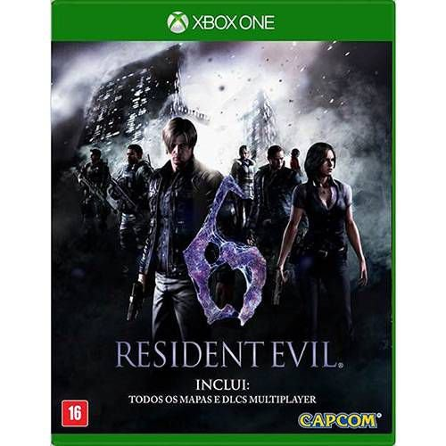 Jogo Resident Evil 6- Xbox One