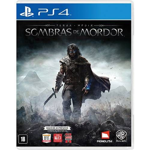 Jogo Terra-Média - Sombras de Mordor  - PS4