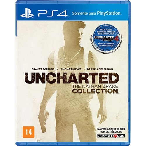 Jogo Uncharted - The Nathan Drake Collection- PS4