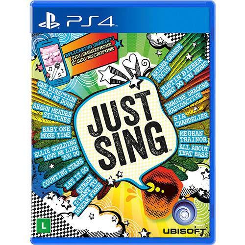 Jogo Just SIng- PS4