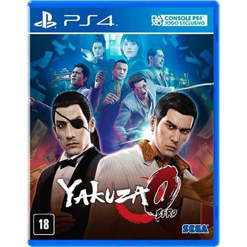 Jogo Yakuza - Zero- PS4