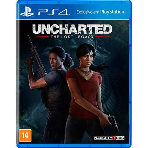 Jogo Uncharted - The Lost Legacy - PS4