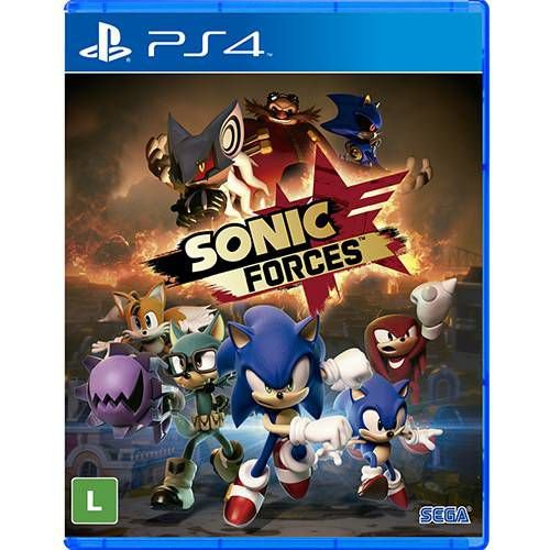 Jogo Sonic Forces -PS4