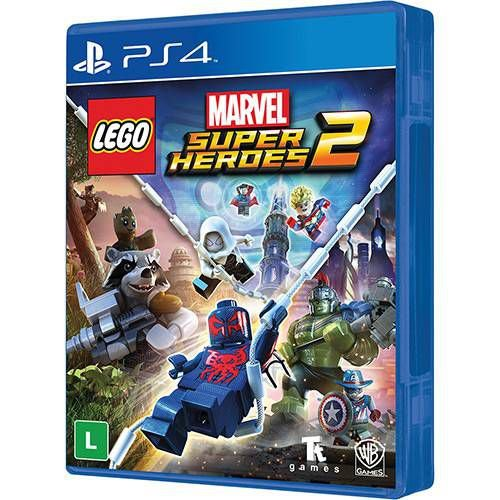 Jogo Lego Marvel Super Heroes 2 - Playstation 4