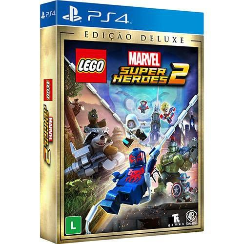 Jogo Lego Marvel Super Heroes 2 Deluxe Edition- Playstation 4