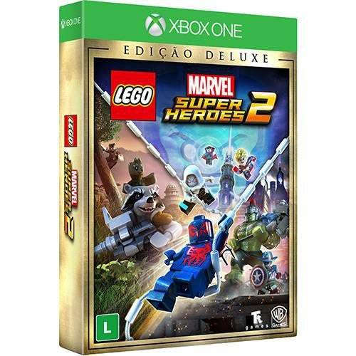Jogo Lego Marvel Super Heroes 2 Deluxe Edition- Xbox One