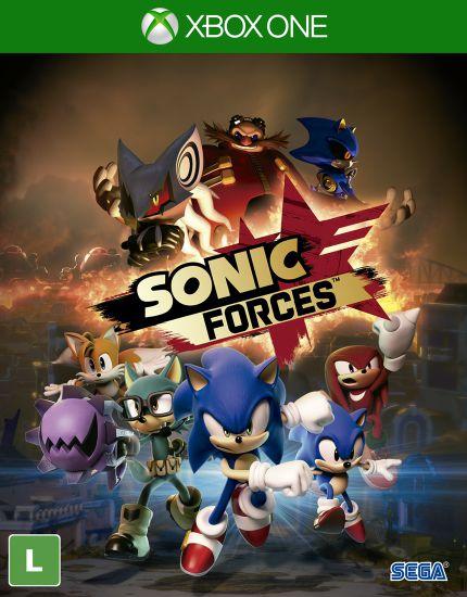 Jogo Sonic Forces- Xbox One