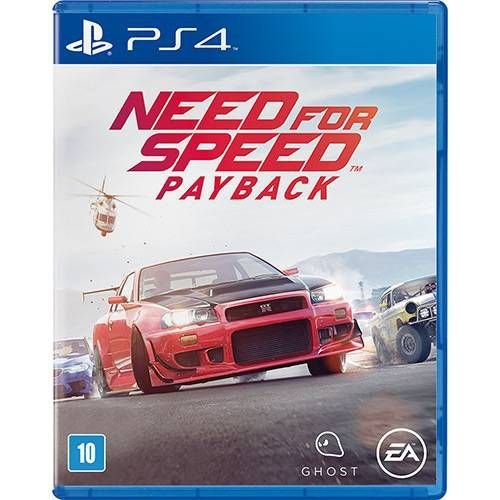 Jogo Need For Speed - Payback - PS4