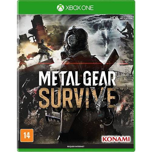 Jogo Metal Gear Survive Xbox One