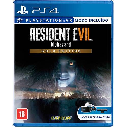 Jogo Resident Evil 7 Biohazard Gold Edition - PS4 - Playstation 4
