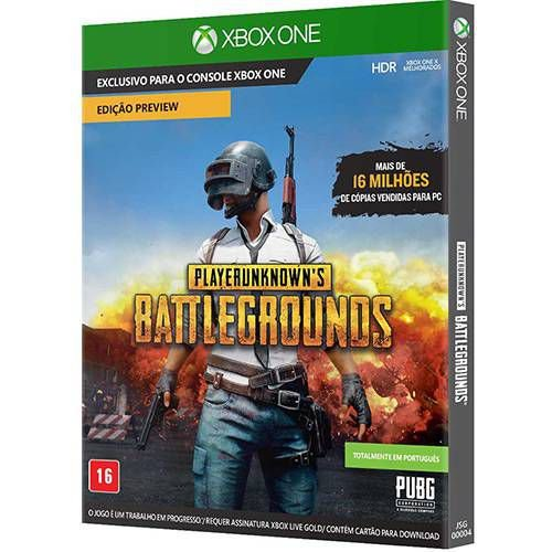 Jogo Pubg - Playerunknown's Battlegrounds Xbox One