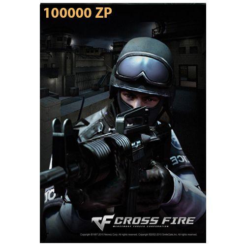Cartão Crossfire Crédito 100000 ZP