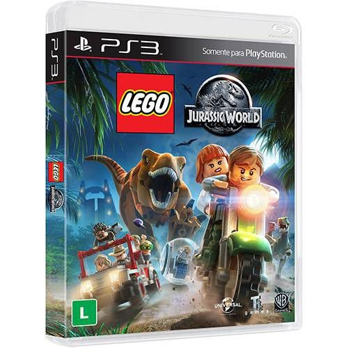 Jogo Lego Jurassic World - PS3 - Playstation 3