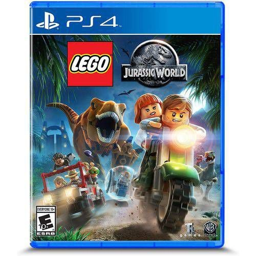 Jogo Lego Jurassic World - Playstation 4