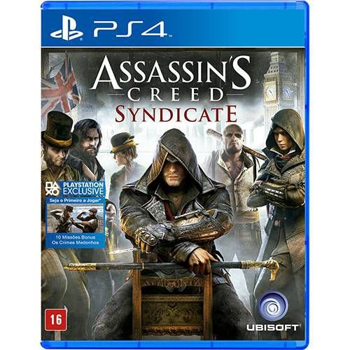 Jogo Assassin's Creed Syndicate - Playstation 4