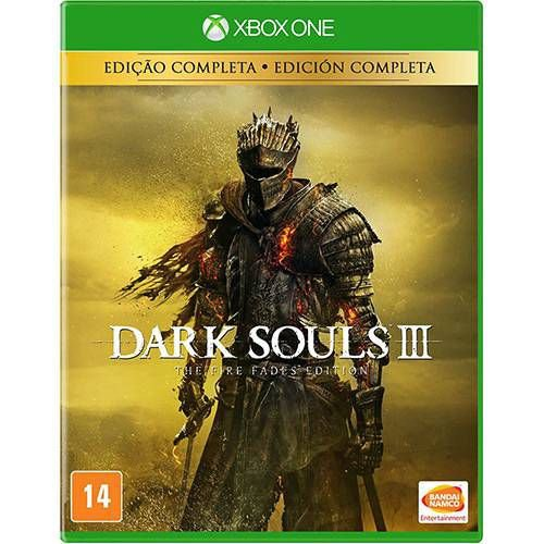 Jogo Dark Souls 3 The Fire Fades Edition - Edição Completa- Xbox One