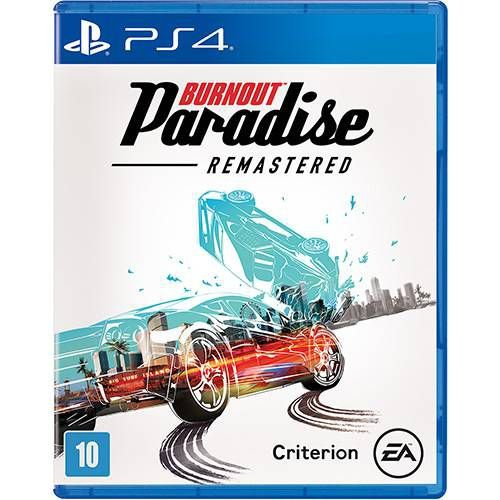 Jogo Burnout Paradise Remasterizado - Ps4 - PlayStation 4