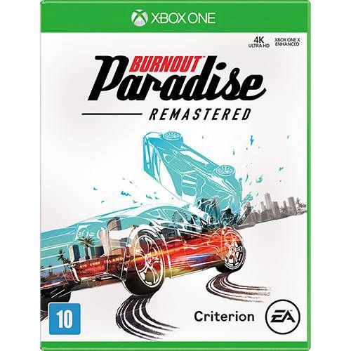 jogo Burnout Paradise Remasterizado - Xbox One