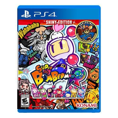 Jogo Super Bomberman R Shiny Edition- Ps4 - PlayStation 4