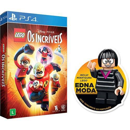 Jogo Lego Os Incríveis Edição Especial - Playstation 4