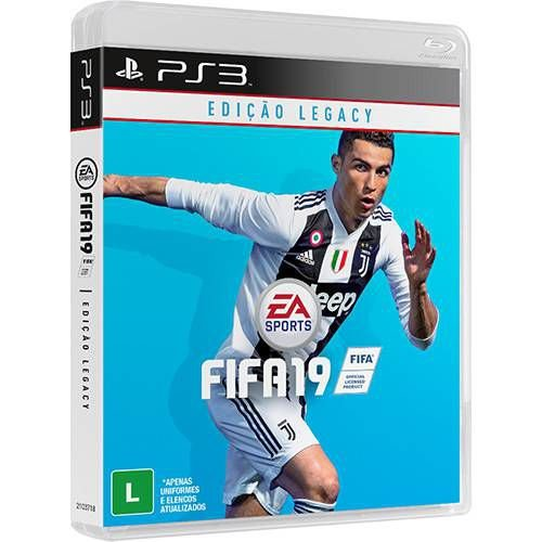 Jogo Fifa 19 - PS3 - Playstation 3