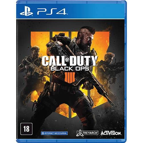 Jogo Call Of Duty Black Ops 4 - PS4 -Playstation 4
