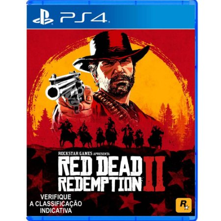 Jogo Red Dead Redemption 2 - PS4 -Playstation 4