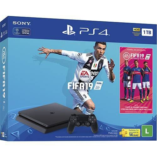 Console Sony Playstation 4 Slim 1 TB Bundle Fifa 19