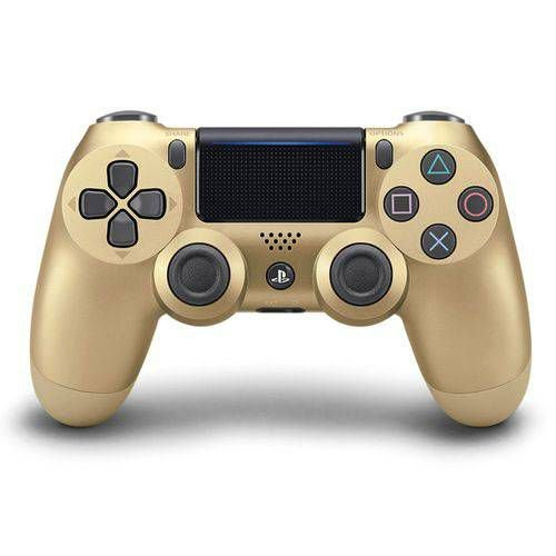 Controle sem Fio Dualshock 4 Sony PS4 - Ouro